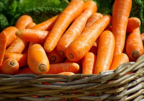 Food combinations and cooking methods, carrots