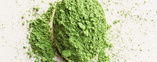 Matcha grüner Tee gegen Angst