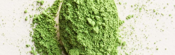 Matcha green tea against anxiety