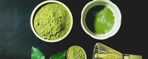 Matcha green tea, more health and memory!