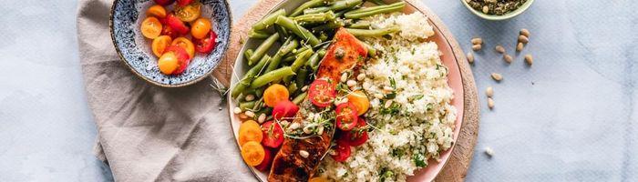 The Mediterranean diet helps reduce stress levels