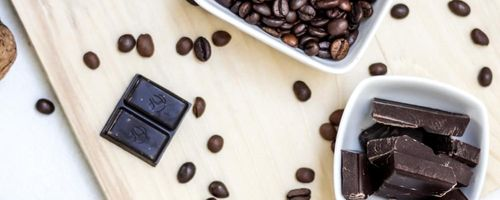 Coffee, tea, chocolate and zinc to fight free radicals
