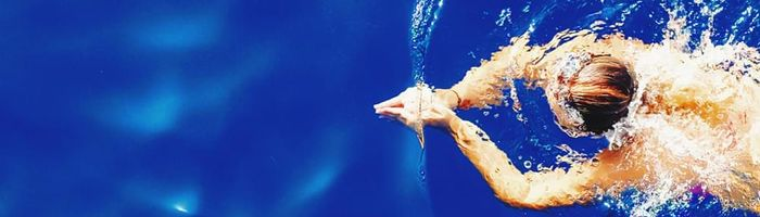 Swimming for heart and lung health
