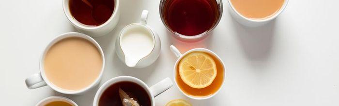 Cinque tipi di tè e la salute è servita in tazza