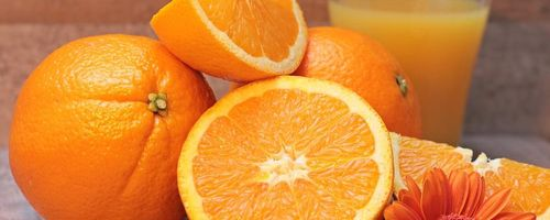 Orange juice for heart health and immune system
