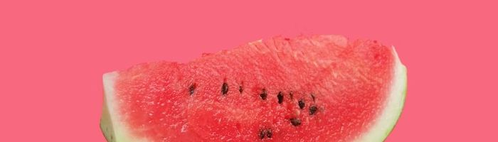 Watermelon, the summer fruit against overweight