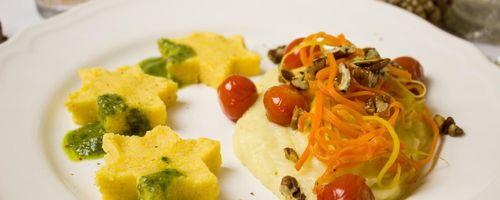 Lebensmittelkombinationen und Kochmethoden, Maispolenta