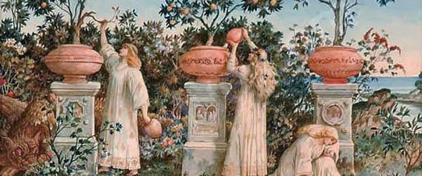 Natural cosmetics, like kings and queens Part 31, the garden of the Hesperides