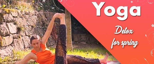 Yoga detox in spring