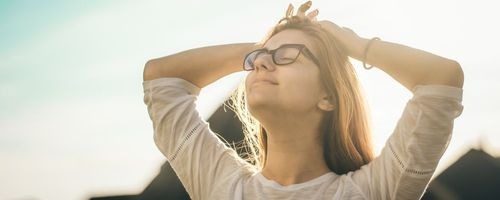 Eye yoga, useful against eyestrain