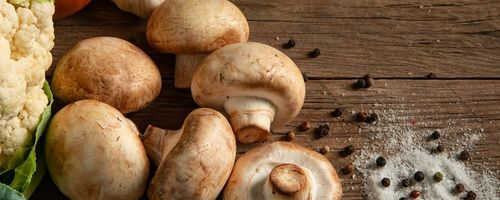 Eating more mushrooms reduces the risk of developing cell degeneration