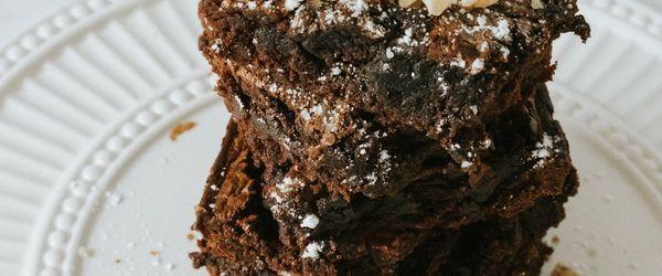 Hazelnut gianduja brownies
