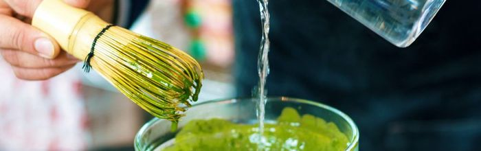 Increase your attention and mental performance with a cup of matcha green tea