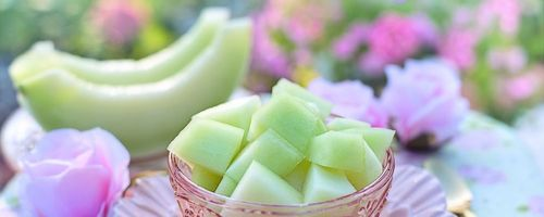 Melon, the fruit of summer