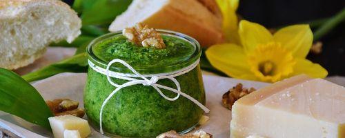Combinazioni alimentari e metodi di cottura, il pesto della salute