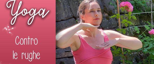 Yoga facciale, piccoli gesti quotidiani di bellezza