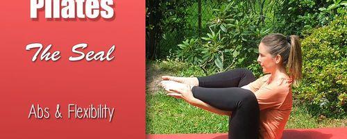 Pilates, The Seal oder Seehund, die Übung für die Bauchmuskeln
