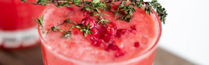 Pomegranate juice, the drink for health and long life