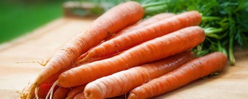 Slow cosmetique, beautiful skin with carrot