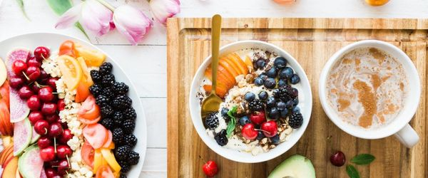 Strong muscles with the high-protein breakfast