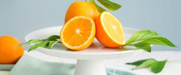 A glass of orange juice against depression