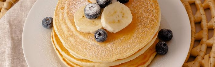 Coconut and Pineapple Protein Pancakes