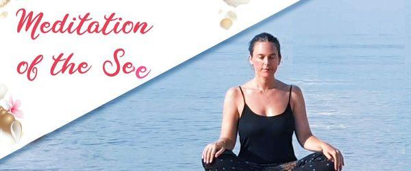 Meditation des Meeres, gegen Stress und seine Auswirkungen auf den Körper