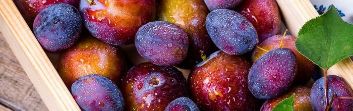 Plums, the fruit that supports the brain, heart and bones