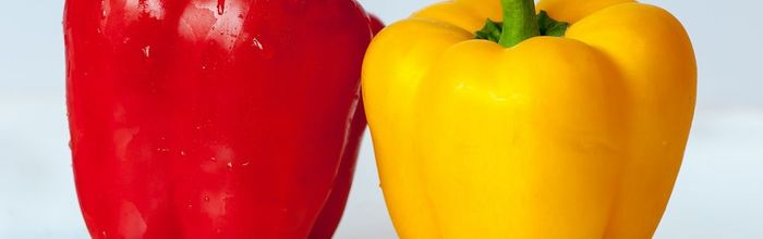 Peppers, the colors of health