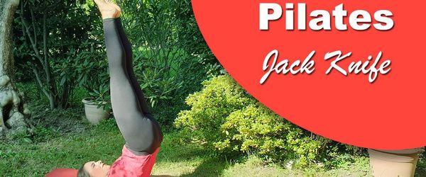 Jack Knife, die Ganzkörper-Pilates-Übung, die auch die Blutzirkulation und den Schlaf verbessert