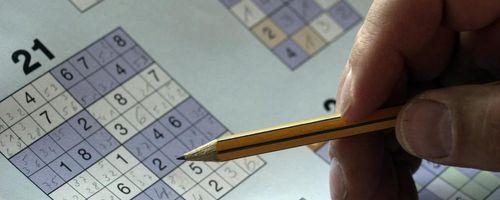 Sudoku, das vorteilhafte Training für das Gehirn