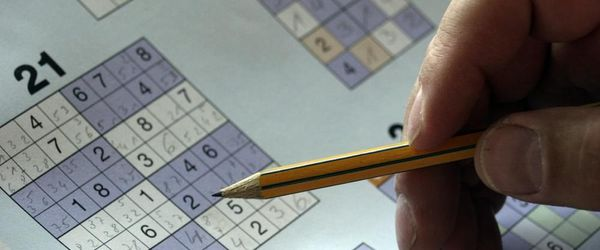 Sudoku, beneficial training for the brain