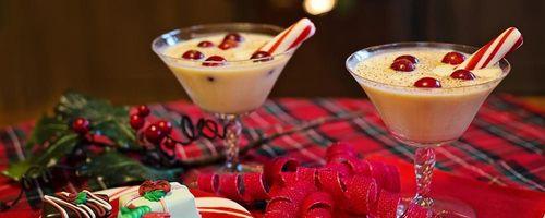 Eggnog, the Christmas drink