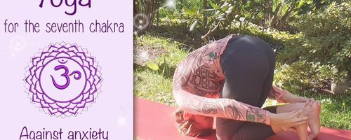 Yoga for the seventh chakra, against anxiety and insomnia