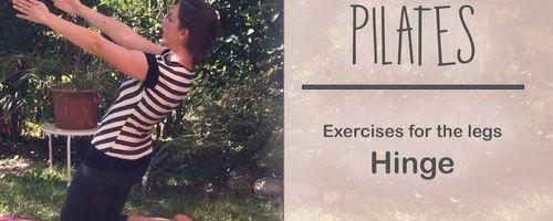 Pilates für die Beine, das Scharnier