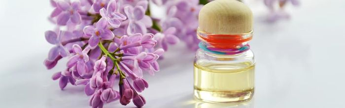 Naturally beautiful, the lilac oil