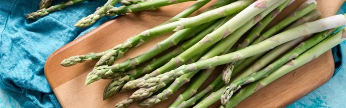 Food combinations and cooking methods, asparagus