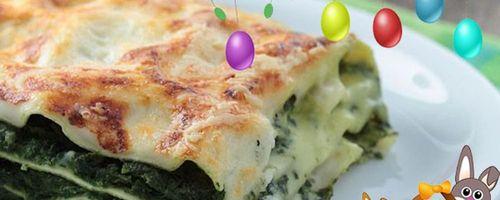 Italian green Lasagna