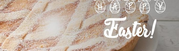 Pastiera, spelt Easter cake