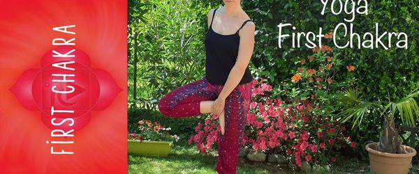 Yoga for the first chakra, let's strengthen your roots