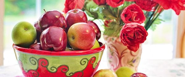 Apples, the colors of health
