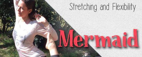 Mermaid, the yoga pose that improves breathe and flexibility