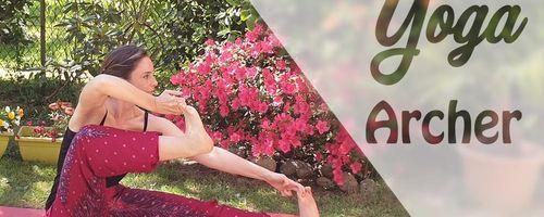 Yoga per la flessibilità, oggi ci alleniamo con l'asana dell'arciere