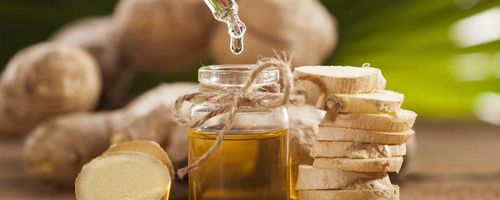 Ginger infused oil