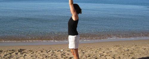 Arm stretch overhead