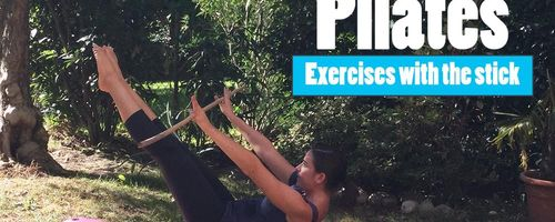 Pilates, exercises with the stick
