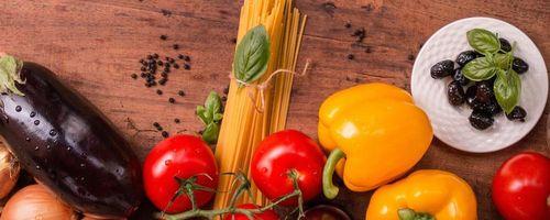 Makcheroni Nudeln in leckerer Gemüsesauce