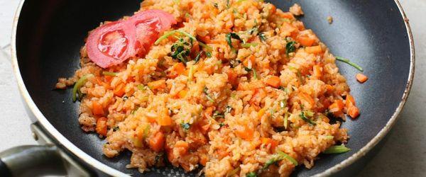 Gebackener Reis