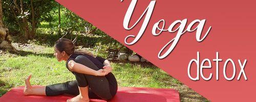 Yoga Detox, wie Giftstoffe zu entfernen und die Verdauung zu verbessern
