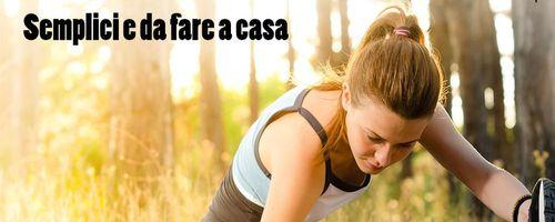 Sani e in forma, esercizi di stretching